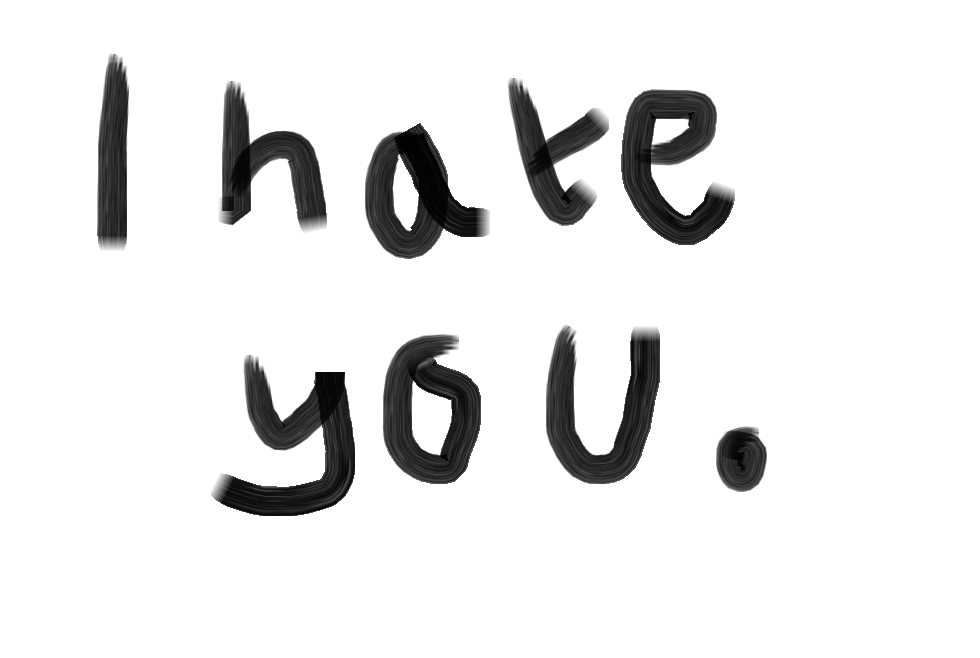 I Hate You Logo